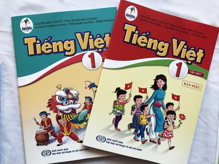Sẽ in hơn 1 triệu tài liệu chỉnh sửa sách Tiếng Việt 1 thuộc bộ Cánh Diều