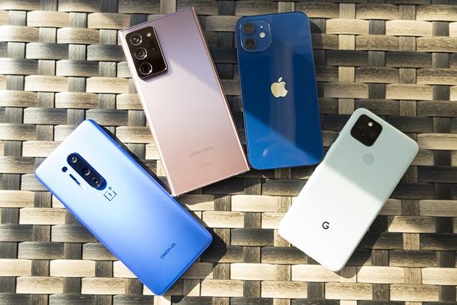 Những smartphone đáng mua nhất dịp đầu năm 2021