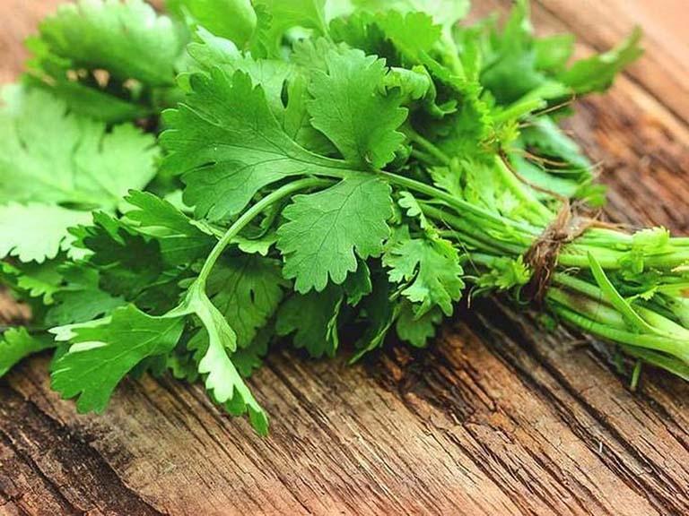 Rau mùi tốt thế nào Bất ngờ với hàng loạt dưỡng chất trong loại rau rất quen thuộc với người Việt