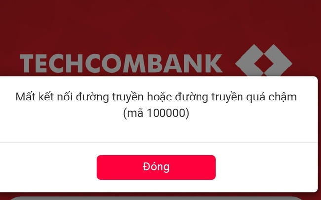 Cận Tết F st Mobile của Techcombank liên tục báo lỗi
