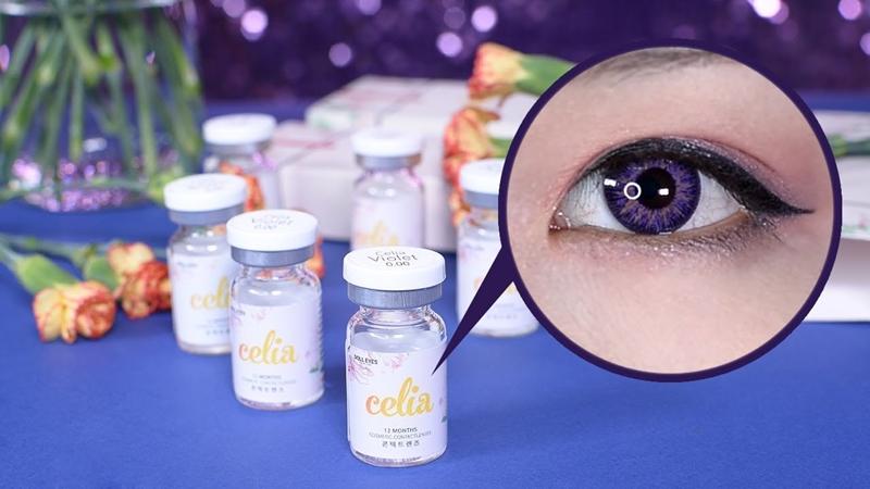Dùng Lens Doll Eyes khách hàng bị hỏng mắt