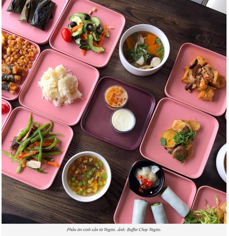 5 Hàng buffet chay có giao mâm cỗ cúng rằm tháng Giêng ở Hà Nội