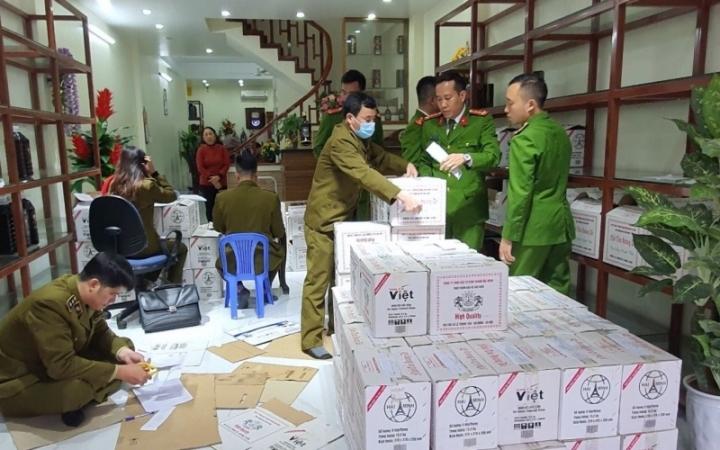 Cảnh báo Thực phẩm BVSK Nhất Tửu Hoàng Đế của công ty Hải Minh có thể gây ngộ độc