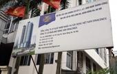 Thi công dự án Vinaconex 93 Láng Hạ Thanh sắt đâm thủng mái nhà dân
