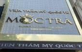 Viện Thẩm mỹ Quốc tế Mộc Trà phẫu thuật thẩm mỹ trái phép tại TP HCM