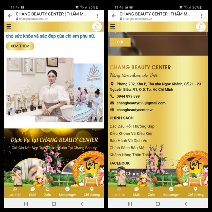 """Viện thẩm mỹ Chang Beauty Thuê chung cư để hoạt động thẩm mỹ """"chui"""""""