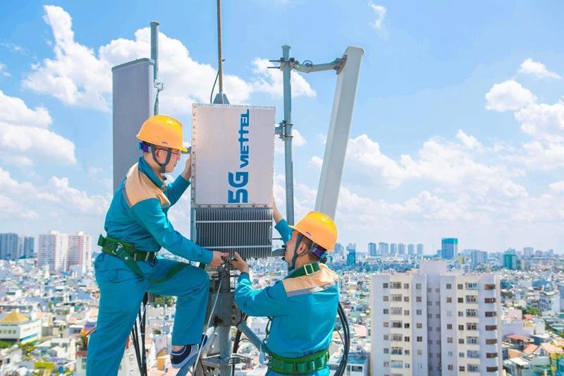 Viettel sắp phủ sóng 5G thêm 9 tỉnh