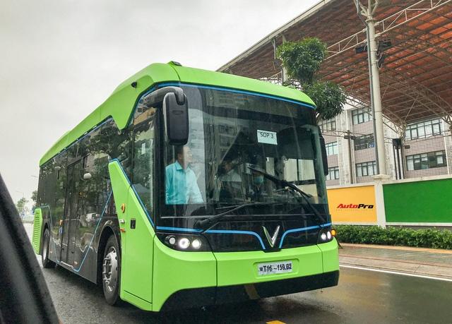 Từ 8 4, tuyến xe buýt VinBus đầu tiên sẽ chính thức hoạt động