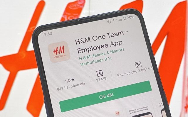 Ứng dụng H M nhận bão 1 sao từ cộng đồng mạng Việt Nam