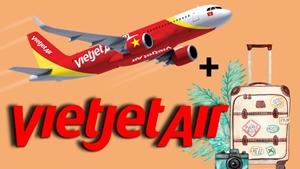 Vietjet Air tung giá vé 39 000 đồng trong tháng 4