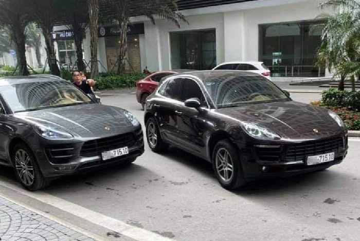 Chuyện hi hữu 2 xe Porsche sinh đôi biển số gặp nhau ở sảnh chung cư