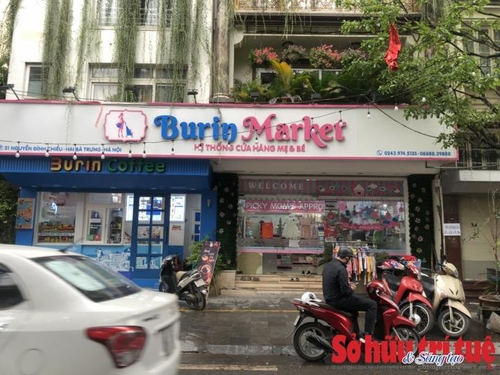 Kinh doanh thực phẩm nhập lậu, cửa hàng Mẹ và bé Burin Market bị tiêu hủy hàng hóa