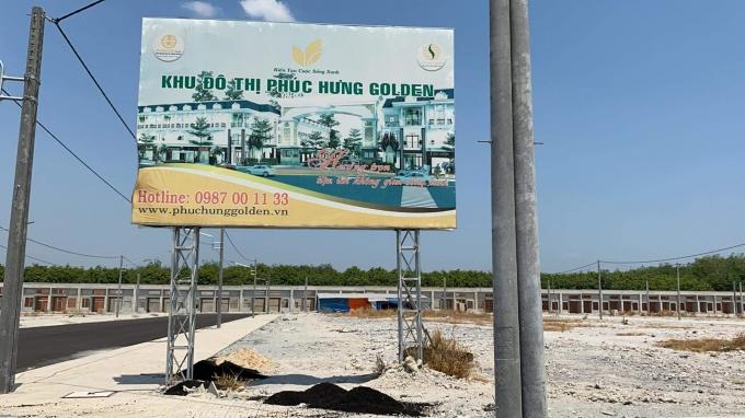 Bình Phước 60 căn nhà tại Khu đô thị Phúc Hưng Golden xây không phép