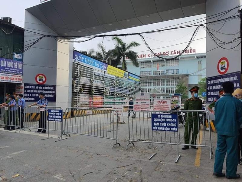 NÓNG Bệnh viện K tạm thời phong toả để tập trung chống dịch covid-19