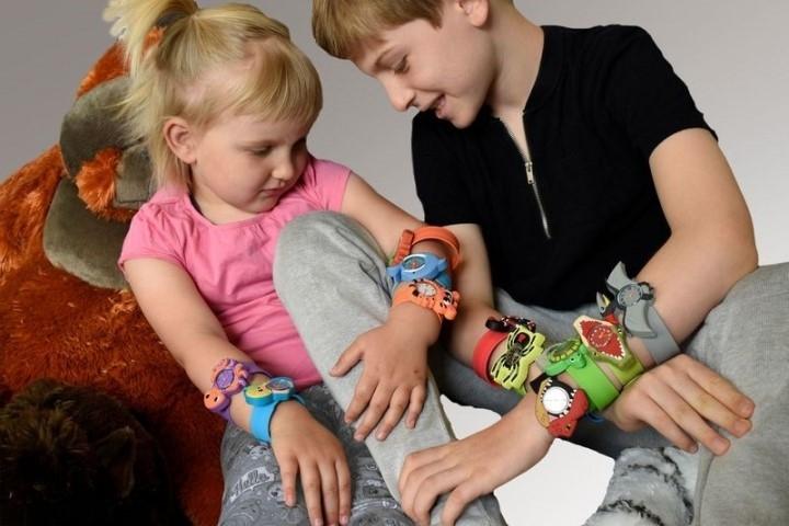 Không đảm bảo an toàn cho trẻ, đồng hồ quấn tay Wild Republic bị thu hồi