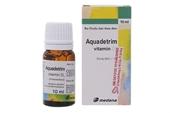 Cảnh báo Nhiều mẫu thuốc aquadetrim vitamin D3 bị nghi là giả