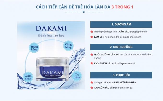 """Công ty CP Thịnh Tâm Đường """"thần thánh hoá"""" sản phẩm Dakami, lừa dối người tiêu dùng"""