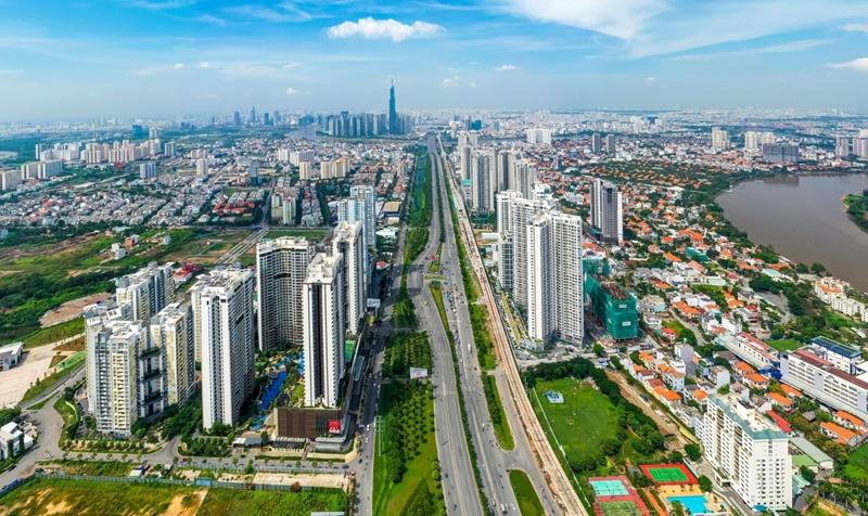 Thị trường bất động sản nửa đầu năm Giá nhà TP HCM đắt hơn 1,5 lần Hà Nội