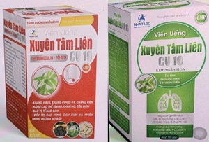 Cảnh báo Xuất hiện thuốc giả mạo sản phẩm Xuyên Tâm Liên, người tiêu dùng hãy cẩn trọng