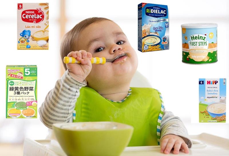 Mách mẹ chọn bột ăn dặm nào tốt nhất cho bé