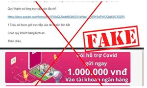 MoMo Cảnh báo email mạo danh nhằm lừa đảo lấy cắp tiền trong ví điện tử