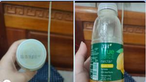 Uống nước ép xoài TH True Juice, khách hàng thất vọng vì vị đắng, chát