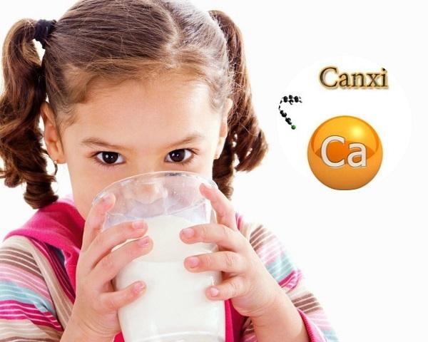 Những loại sữa có hàm lượng canxi cao nhất
