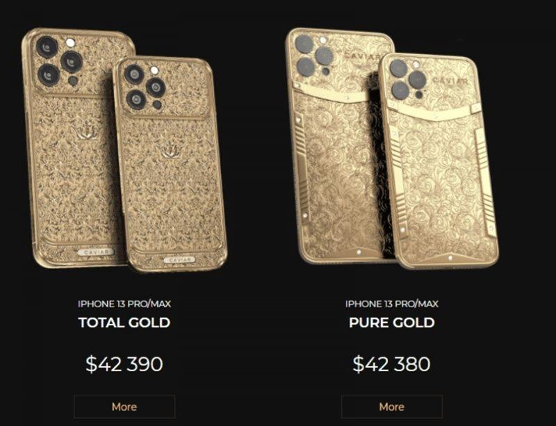 Chiêm ngưỡng iPhone 13 Pro Max bằng vàng, giá hơn 1 tỷ đồng