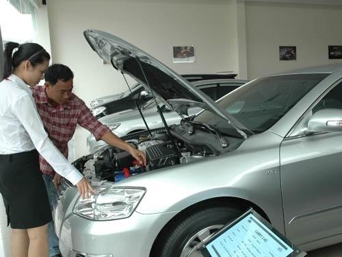 Kinh nghiệm mua ô tô cũ Cần chú ý những điều gì