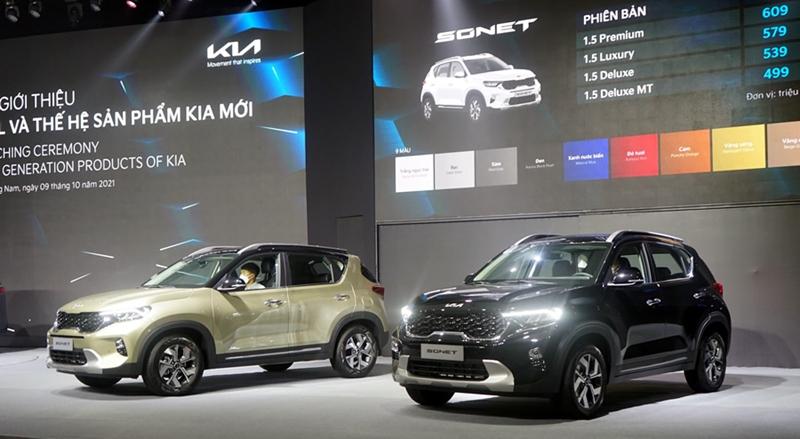 THACO AUTO ra mắt nhiều mẫu xe mới, hiện đại, sang trọng
