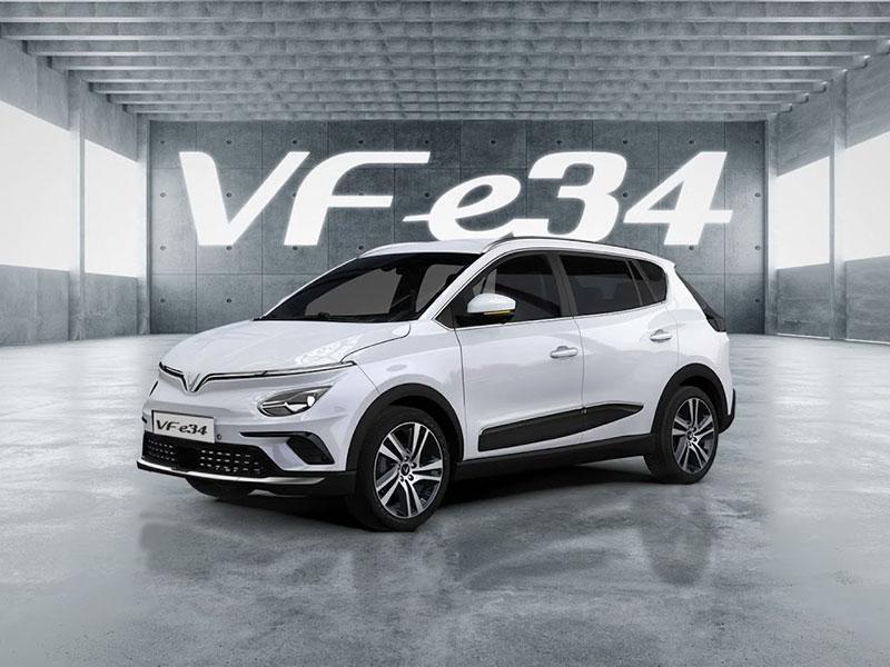 Sau 10 tháng công bố, VinFast VF e34 chính thức được trình làng