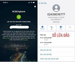 """Chia sẻ mã OTP cho số điện thoại lạ, khách hàng mất gần 60 triệu 'trong vòng một nốt nhạc"""""""