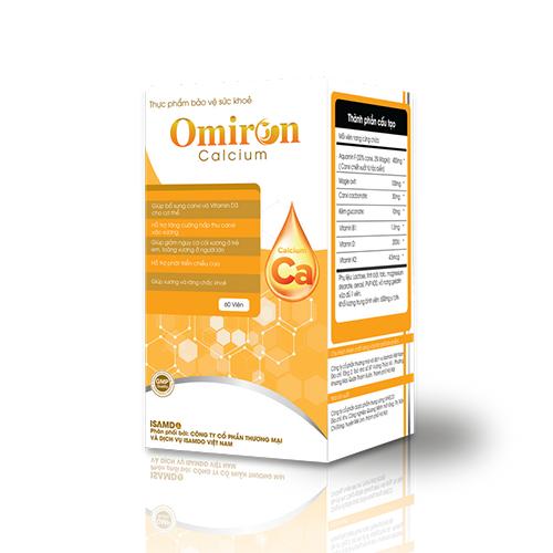 Cảnh báo Omiron Calcium quảng cáo sai sự thật, người mua cần dè chừng