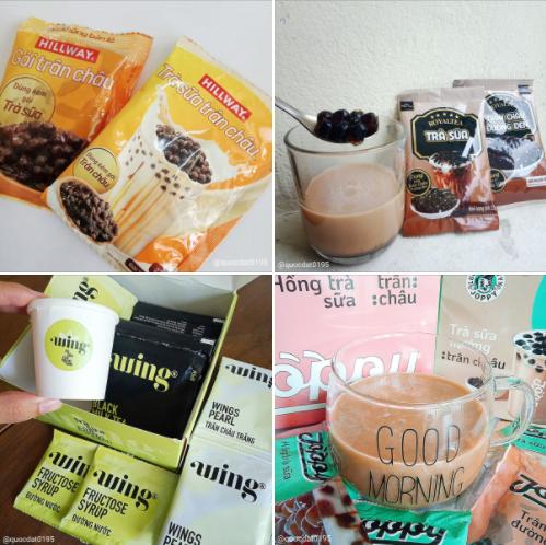 Thỏa cơn đam mê với hệ trà sữa tự pha