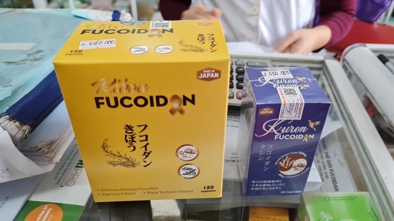 """Nổ công dụng quảng cáo Fucoidan có thể """"tiêu diệt tế bào ung thư"""", người mua cần cẩn trọng"""